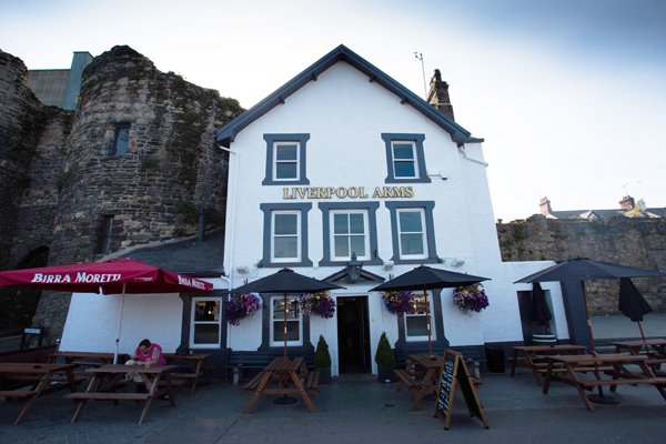 Liverpool Arms Conwy, North Wales