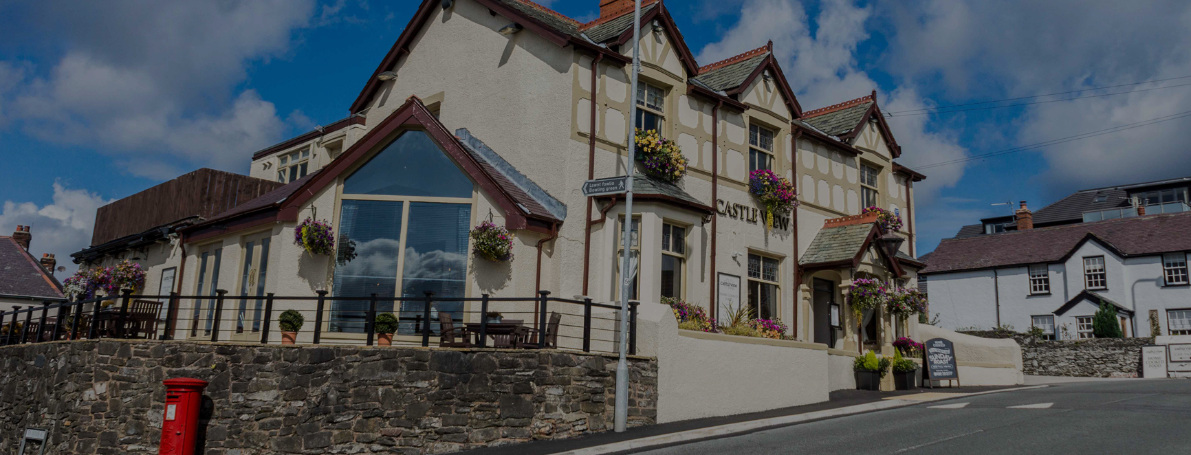Castle View bar & restaurant, Deganwy, North Wales