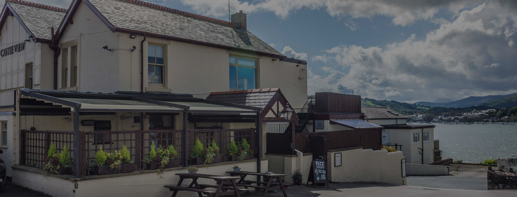 Castle View bar & restaurant, Deganwy, North Wales,
